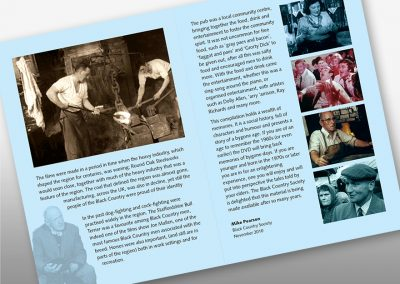 Client: MACE Media Archive for Central England | Booklet |