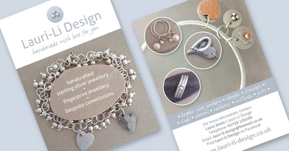 jewellery design postcard