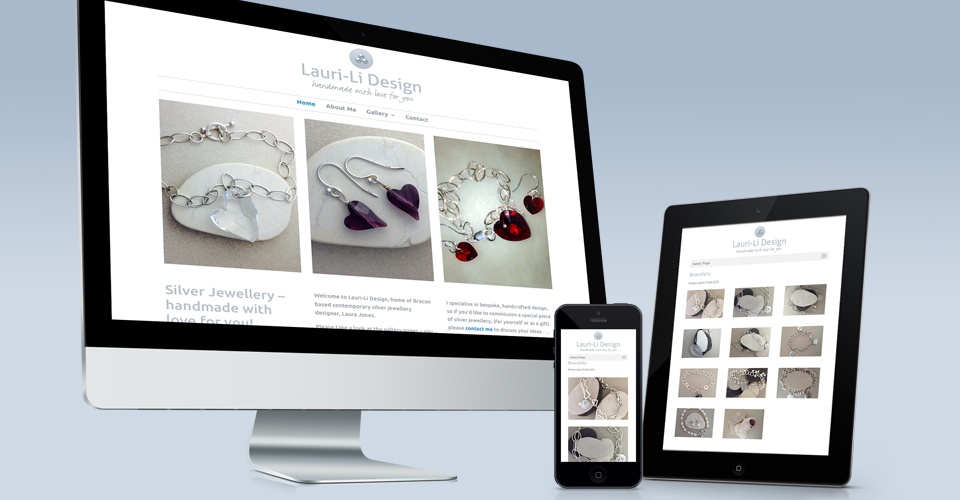 jewellery website responsive design