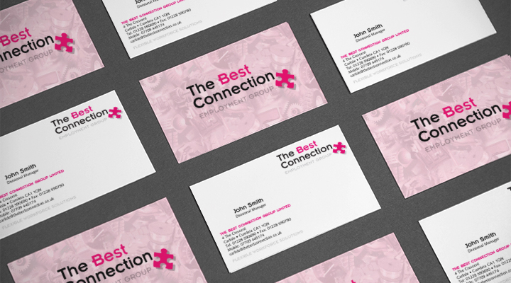 The Best Connection Business Cards