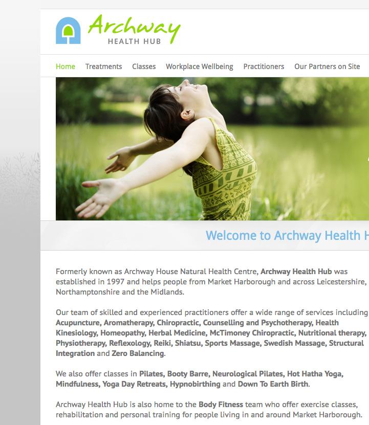 Archway Health Hub website logo