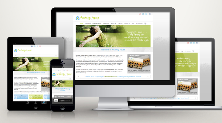 Archway Health Hub website design