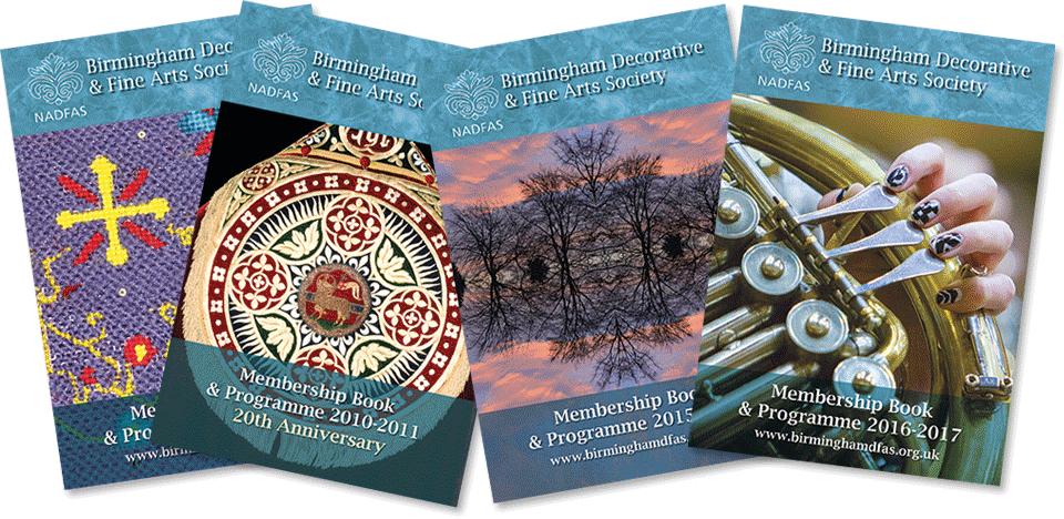 BDFAS Membership booklets